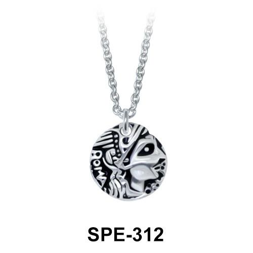 Pendant Silver Antique Style SPE-312