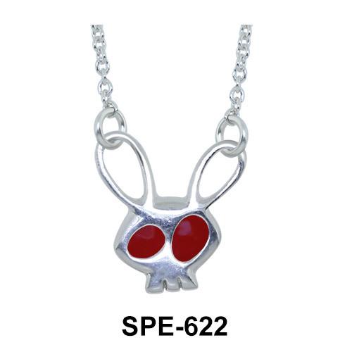 Kids Pendants Bunny Skull SPE-622