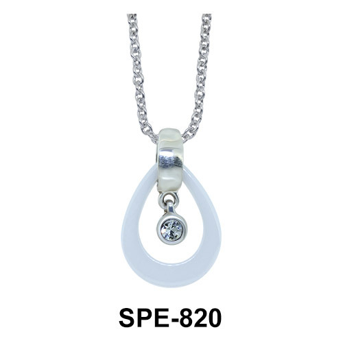 Tear Drop Shaped Pendant SPE-820