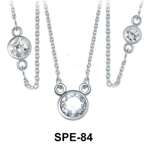 Pendant Silver Splendid Circle SPE-84