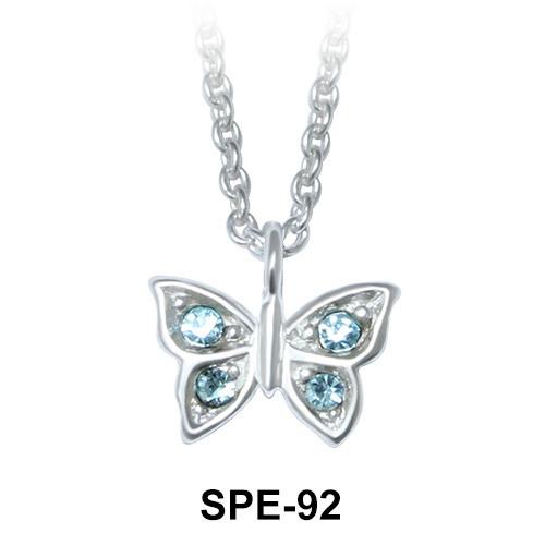 Pendant Silver Sweet Butterfly SPE-92