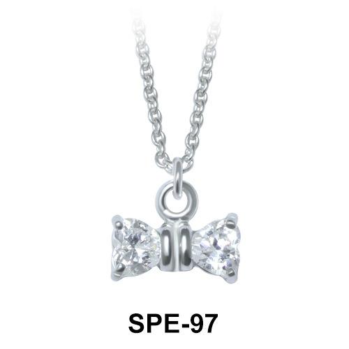 Pendant Silver Little Bow SPE-97