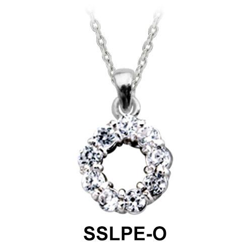 Pendant Silver O Shape SSLPE-O