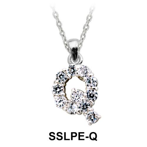 Pendant Silver Q Shape SSLPE-Q