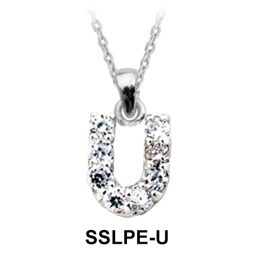 Pendant Silver U Shape SSLPE-U