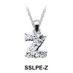 Pendant Silver Z Shape SSLPE-Z