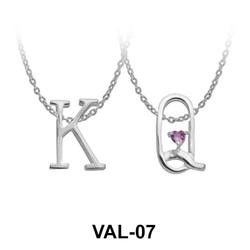 Pendant Silver K&Q Style VAL-07