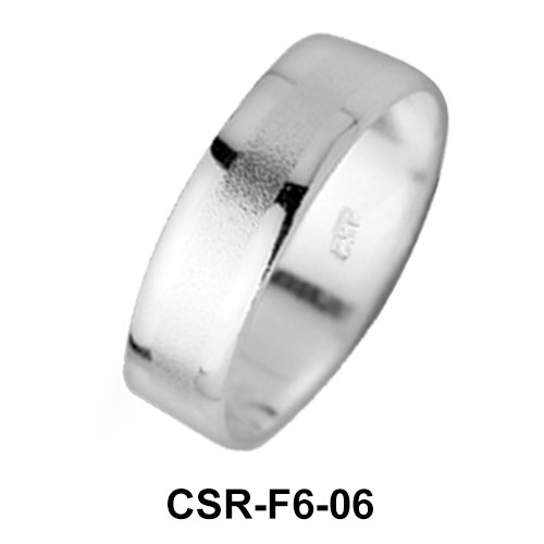 Silver Rings Bigger Mixed Surfaces CSR-F6-06