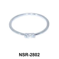 CZ Silver Rings NSR-2802
