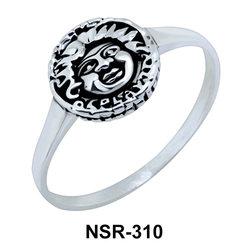 Silver Ring Antique Coin NSR-310