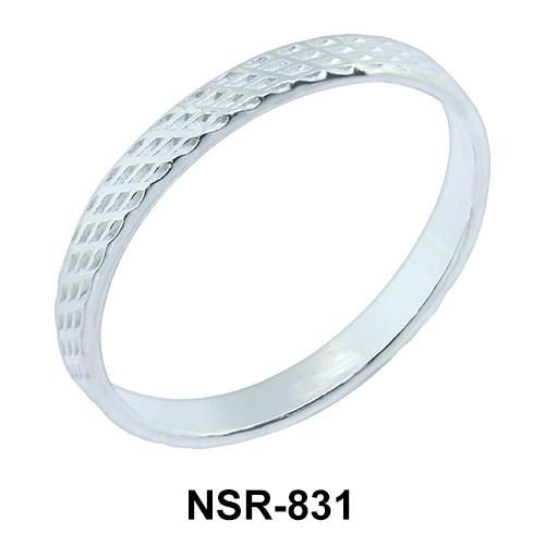 Unique Design Silver Ring NSR-831