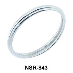 Classic Silver Ring NSR-843