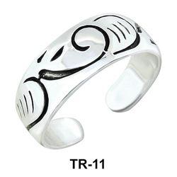 Silver Toe Ring TR-11
