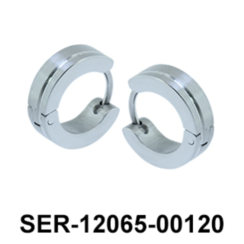3 Layered Surgical Steel Earring SER-12065-00120