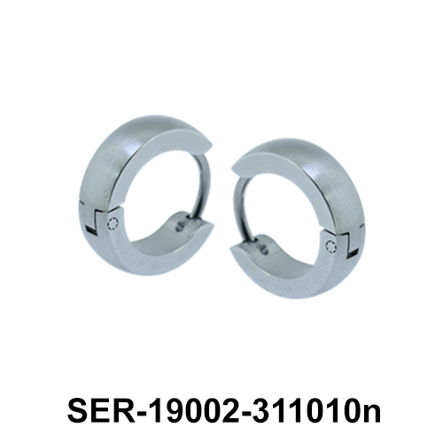Hinged Surgical Steel Earring SER-19002-311010n