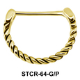 Spiral Shaped Septum Piercing STCR-64