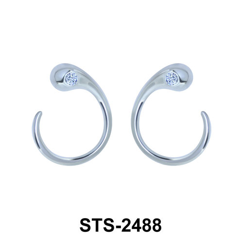 Silver Earring STS-2488