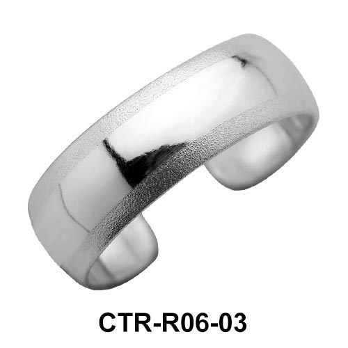 Fabulous Style Silver Toe Ring CTR-R06-03