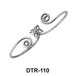 Double Toe Ring Butterfly Shaped DTR-110