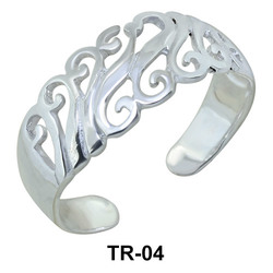 Butterfly Toe Rings TR-04