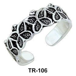 Butterfly Toe Rings TR-106