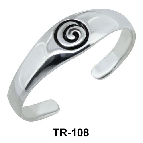 Silver Toe Rings TR-108