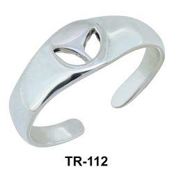 Toe Ring Carving Leaf TR-112