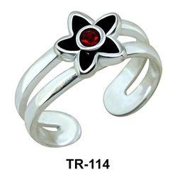 Silver Toe Rings TR-114