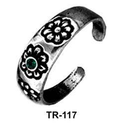 Toe Ring with Flower TR-117