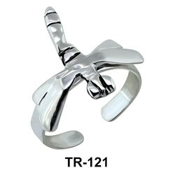 Silver Toe Rings TR-121