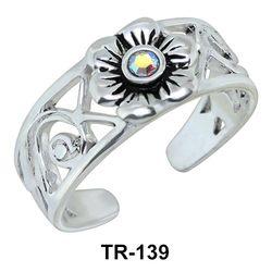 Toe Ring Pretty Flora TR-139