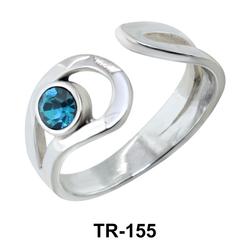Silver Toe Ring TR-155