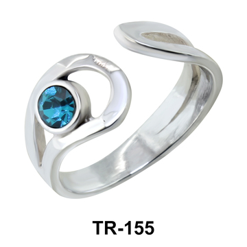 Silver Toe Ring TR-155