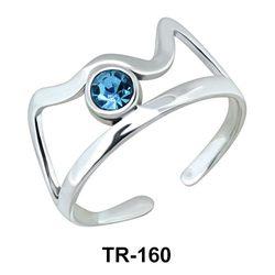 Toe Ring Cute Crown TR-160