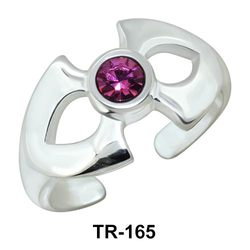 Toe Ring Little Bow TR-165