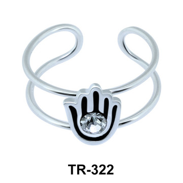 Toe Ring Hand Shape TR-322