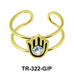 Toe Ring Hand Shape TR-322