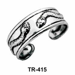 Snake Silver Toe Ring TR-415