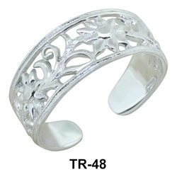 Toe Rings Splendid Stencil TR-48