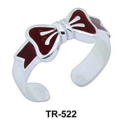 Toe Ring Bow Shaped TR-522