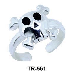 Toe Ring Danger Sign Shaped TR-561