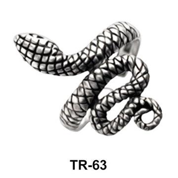 Toe Ring Amazing Snake TR-63