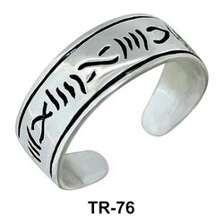 Toe Ring Scratch Design TR-76