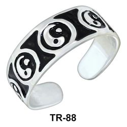 Toe Rings Yin Yang Style TR-88