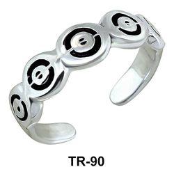 Toe Ring Unusual Circle TR-90
