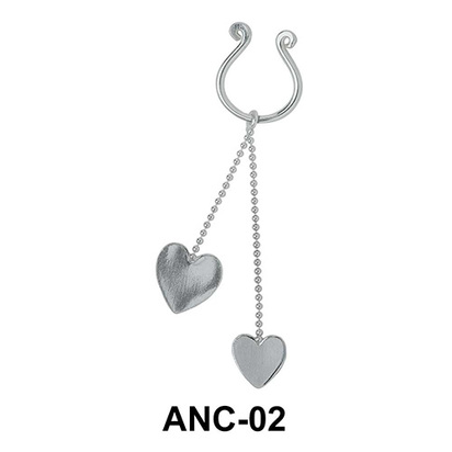 Chained Heart Nipple Clip ANC-02