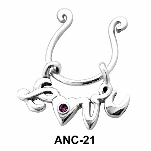 Love Heart Nipple Clip ANC-21