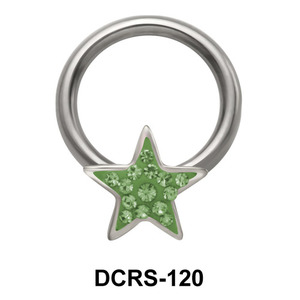 Rainbow Star Closure Rings DCRS-120