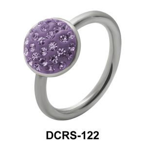 Rainbow Round Closure Rings DCRS-122