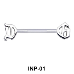 Interesting Design Nipple Piercing INP-01